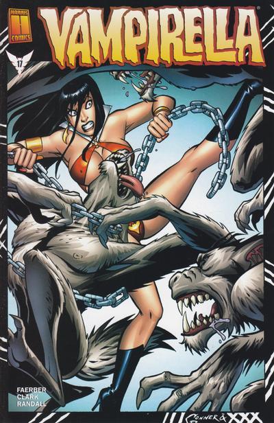 Cover for Vampirella (Harris Comics, 2001 series) #17 [Amanda Conner Cover]