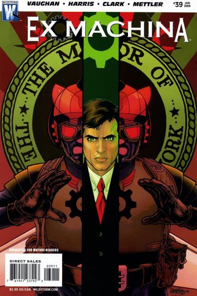 Cover for Ex Machina (DC, 2004 series) #39