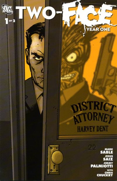 Cover for Two-Face: Year One (DC, 2008 series) #1