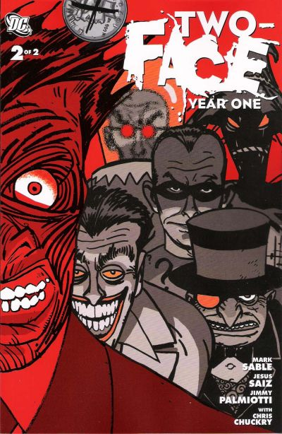 Cover for Two-Face: Year One (DC, 2008 series) #2