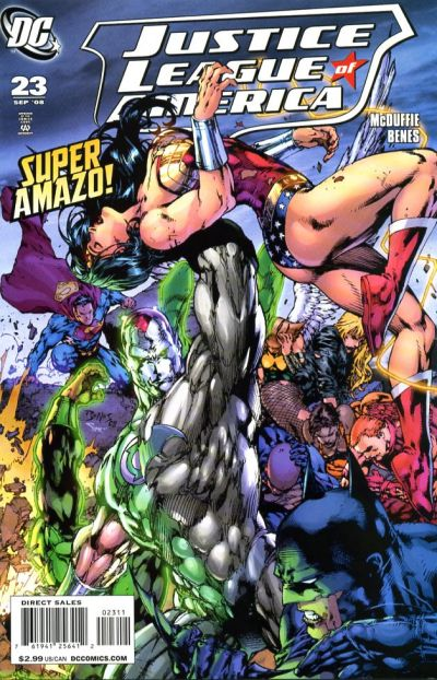 Cover for Justice League of America (DC, 2006 series) #23