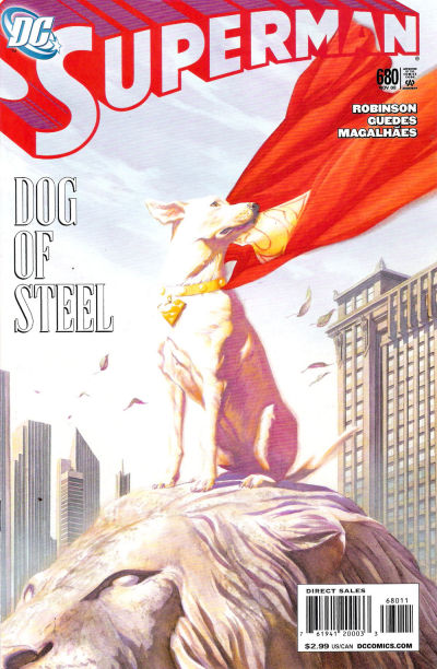 Cover for Superman (DC, 2006 series) #680