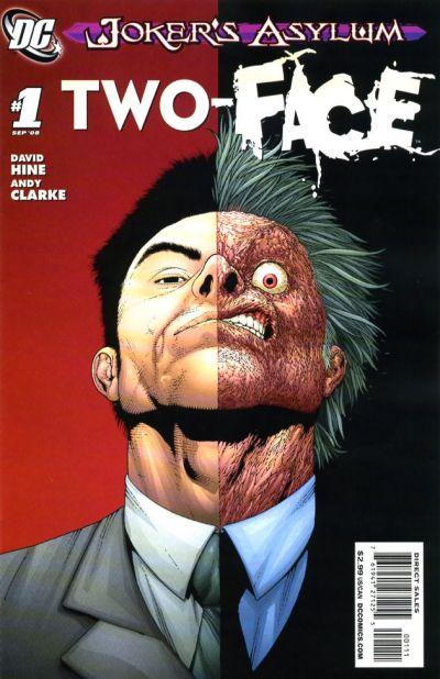 Cover for Joker's Asylum: Two-Face (DC, 2008 series) #1