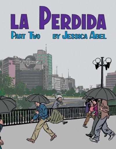 Cover for La Perdida (Fantagraphics, 2001 series) #2