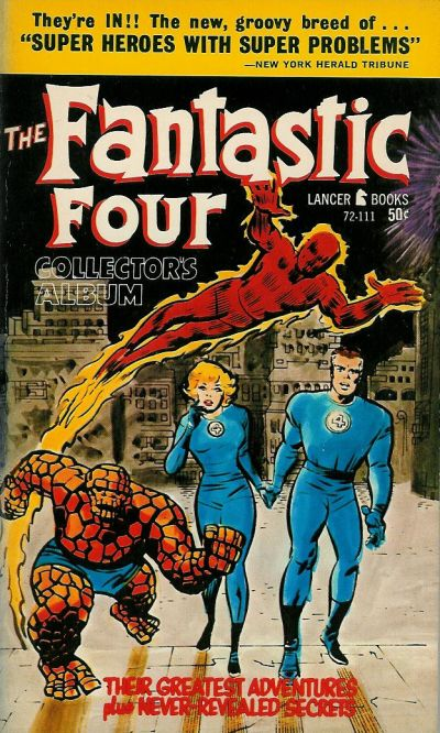 Cover for The Fantastic Four (Lancer Books, 1966 series) #72-111