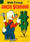 Cover for Walt Disney's Uncle Scrooge (Dell, 1953 series) #9