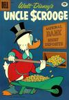 Cover for Walt Disney's Uncle Scrooge (Dell, 1953 series) #33