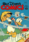 Cover for Walt Disney's Comics and Stories (Dell, 1940 series) #v4#6 (42)