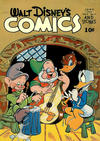 Cover for Walt Disney's Comics and Stories (Dell, 1940 series) #v4#9 (45)