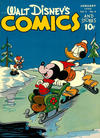 Cover for Walt Disney's Comics and Stories (Dell, 1940 series) #v5#4 (52)