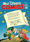 Cover for Walt Disney's Comics and Stories (Dell, 1940 series) #v5#10 (58)