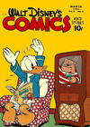 Cover for Walt Disney's Comics and Stories (Dell, 1940 series) #v6#6 (66)
