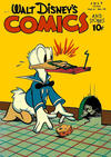 Cover for Walt Disney's Comics and Stories (Dell, 1940 series) #v6#10 (70)
