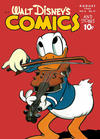 Cover for Walt Disney's Comics and Stories (Dell, 1940 series) #v6#11 (71)