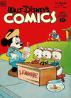 Cover for Walt Disney's Comics and Stories (Dell, 1940 series) #v9#1 (97)