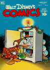 Cover for Walt Disney's Comics and Stories (Dell, 1940 series) #v9#4 (100)
