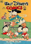 Cover for Walt Disney's Comics and Stories (Dell, 1940 series) #v9#8 (104)