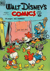 Cover for Walt Disney's Comics and Stories (Dell, 1940 series) #v10#7 (115)