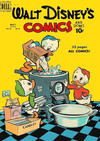 Cover for Walt Disney's Comics and Stories (Dell, 1940 series) #v10#8 (116)