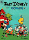 Cover for Walt Disney's Comics and Stories (Dell, 1940 series) #v11#1 (121)