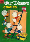 Cover for Walt Disney's Comics and Stories (Dell, 1940 series) #v13#3 (147)