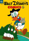 Cover for Walt Disney's Comics and Stories (Dell, 1940 series) #v14#1 (157)