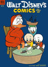 Cover for Walt Disney's Comics and Stories (Dell, 1940 series) #v14#4 (160)