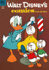 Cover for Walt Disney's Comics and Stories (Dell, 1940 series) #v15#1 (169)