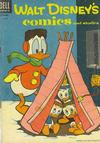 Cover for Walt Disney's Comics and Stories (Dell, 1940 series) #v15#2 (170) [No Price on Cover]