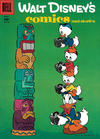 Cover for Walt Disney's Comics and Stories (Dell, 1940 series) #v16#6 (186)