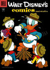 Cover for Walt Disney's Comics and Stories (Dell, 1940 series) #v16#11 (191)