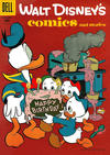 Cover for Walt Disney's Comics and Stories (Dell, 1940 series) #v17#3 (195)