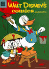 Cover for Walt Disney's Comics and Stories (Dell, 1940 series) #v17#4 (196)