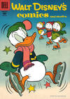 Cover for Walt Disney's Comics and Stories (Dell, 1940 series) #v17#5 (197)