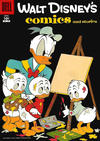 Cover for Walt Disney's Comics and Stories (Dell, 1940 series) #v17#7 (199)