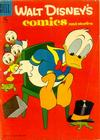 Cover for Walt Disney's Comics and Stories (Dell, 1940 series) #v17#8 (200) [15¢ edition]