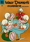 Cover for Walt Disney's Comics and Stories (Dell, 1940 series) #v17#10 (202)