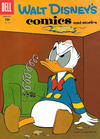 Cover for Walt Disney's Comics and Stories (Dell, 1940 series) #v18#5 (209)