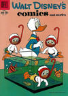 Cover for Walt Disney's Comics and Stories (Dell, 1940 series) #v19#7 (223)