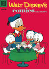 Cover for Walt Disney's Comics and Stories (Dell, 1940 series) #v20#1 (229)