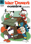Cover for Walt Disney's Comics and Stories (Dell, 1940 series) #v20#8 (236)