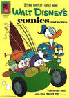 Cover for Walt Disney's Comics and Stories (Dell, 1940 series) #v21#12 (252)