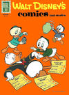 Cover for Walt Disney's Comics and Stories (Dell, 1940 series) #v22#3 (255)