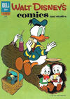 Cover for Walt Disney's Comics and Stories (Dell, 1940 series) #v22#9 (261)