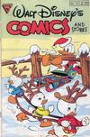 Cover for Walt Disney's Comics and Stories (Gladstone, 1986 series) #537