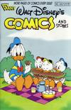 Cover for Walt Disney's Comics and Stories (Gladstone, 1986 series) #545