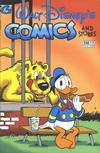 Cover for Walt Disney's Comics and Stories (Gladstone, 1993 series) #598