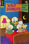 Cover for Walt Disney's Comics and Stories (Western, 1962 series) #v36#4 (424) [Gold Key]
