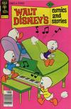 Cover for Walt Disney's Comics and Stories (Western, 1962 series) #v38#1 (445) [Gold Key]