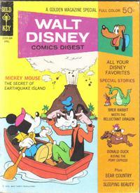 Cover Thumbnail for Walt Disney Comics Digest (Western, 1968 series) #21